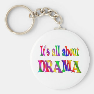 All About Drama Keychain