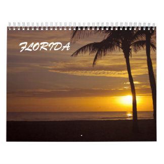 All about Florida beaches Wall Calendars