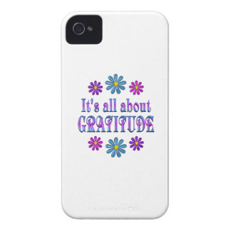 ALL ABOUT GRATITUDE iPhone 4 Case-Mate CASE