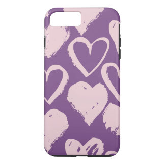 All About Hearts Cell Phone Case