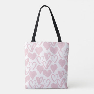 All About Hearts Tote Bag