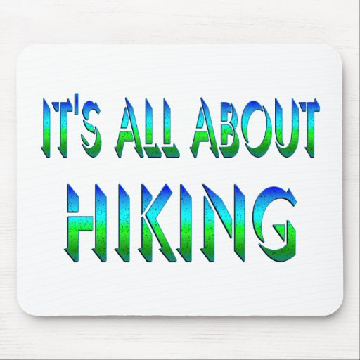 All About Hiking Mouse Pad