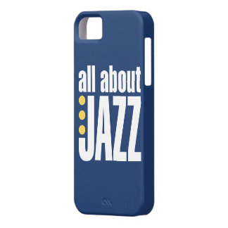 All About Jazz iPhone 5 Cover