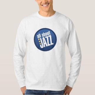 All About Jazz Men's Heavyweight Long Sleeve Tshirt