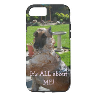 All About Me German Shepherd iPhone Case