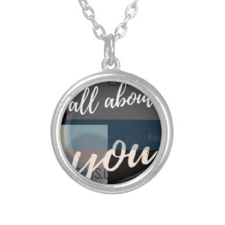 all about Posta Silver Plated Necklace