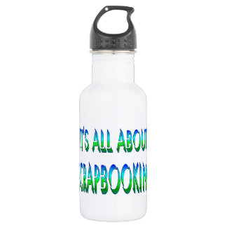 All About Scrapbooking 532 Ml Water Bottle