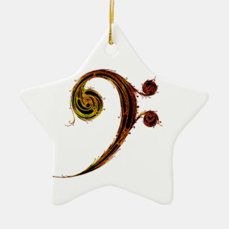 All About That Bass Ceramic Ornament