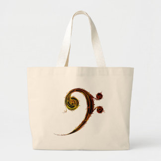 All About That Bass Large Tote Bag
