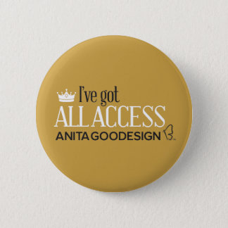 All Access Club Button (Gold)