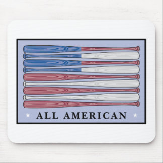 all american baseball mouse pad