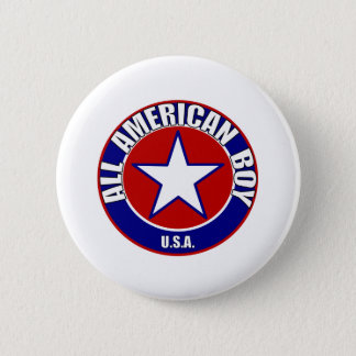 All American Boybutton 2 Inch Round Button