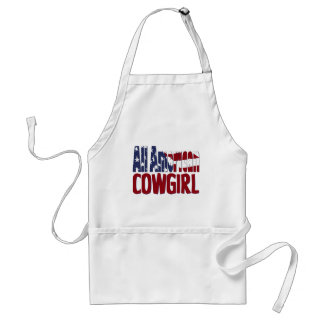All American Cowgirl Standard Apron
