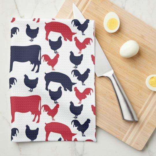 All American Farm Kitchen Towell Kitchen Towel