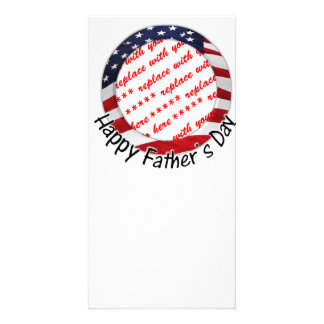 All American Father's Day Frame Photo Cards