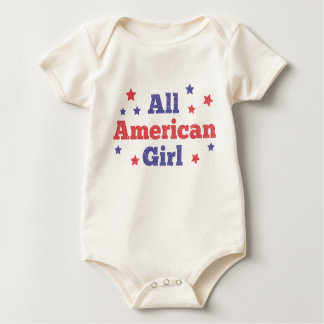 All American Girl Baby Bodysuit