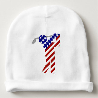 All American Golfer - Mens Golf Baby Beanie