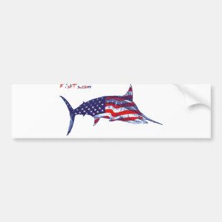All american marlin bumper stickers