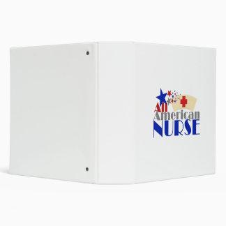 All American Nurse 3 Ring Binder
