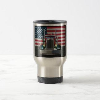 All American Peterbilt Travel Mug
