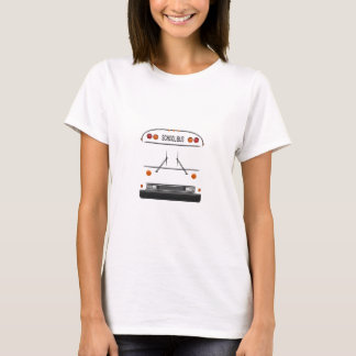 'All American RE' School Bus Women's T-Shirt