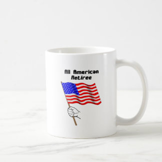 All American Retiree Mug