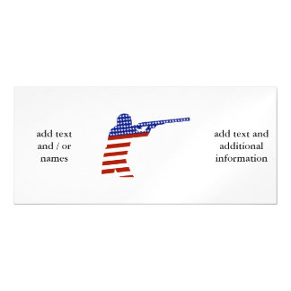 All-American Rifleman/Shooting Contender Magnetic Invitations