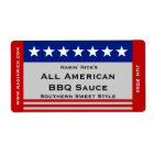 All American Stars and Stripes Food Container