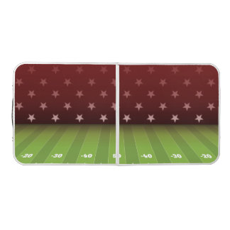 All-American Sunday Football. Beer Pong Table
