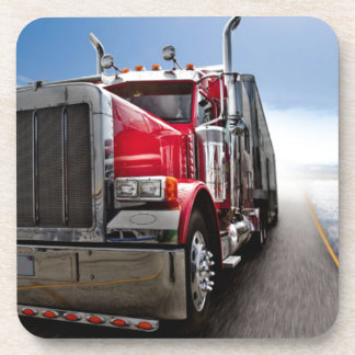 All American Trucker Drink Coasters