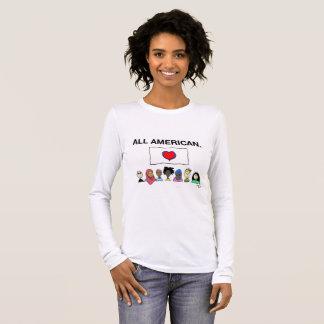 All American Women's Longsleeve Shirt