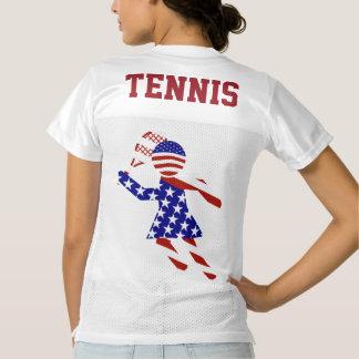 All-American Womens Tennis Player Women's Football Jersey