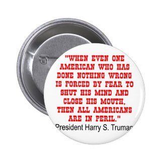 All Americans Are In Peril 2 Inch Round Button