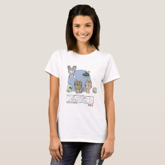 All Animals Are Beautiful by Genesis Benevidas T-Shirt