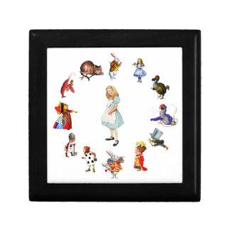 All Around Alice In Wonderland Trinket Boxes