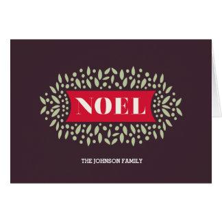 all around noel card