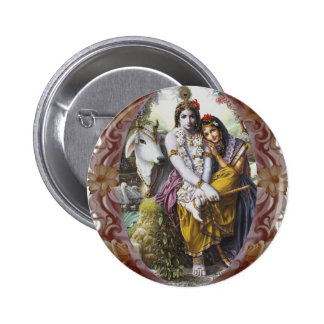 All-Attractive Couple 2 Inch Round Button