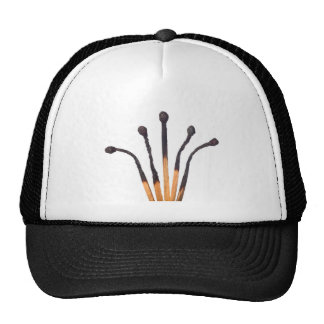All burned out trucker hat