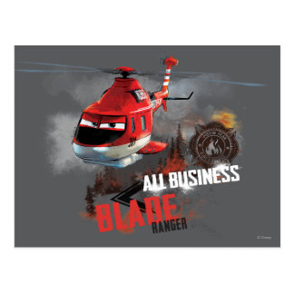 All Business Postcard