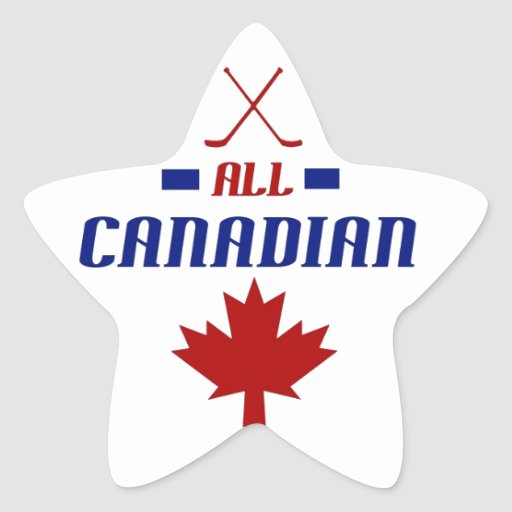 All Canadian Sticker