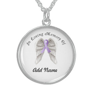 All Cancers Awareness Memorial Necklace