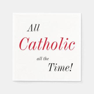 All Catholic All the Time! Napkin
