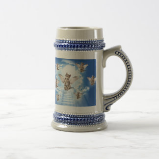 All Cats Go to Heaven Beer Stein