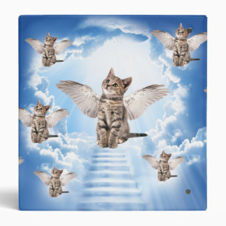 All Cats Go to Heaven Binders