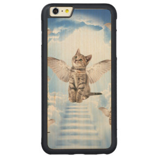 All Cats Go to Heaven Carved® Maple iPhone 6 Plus Bumper Case