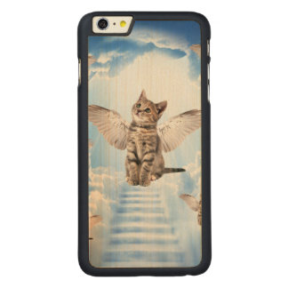 All Cats Go to Heaven Carved® Maple iPhone 6 Plus Case