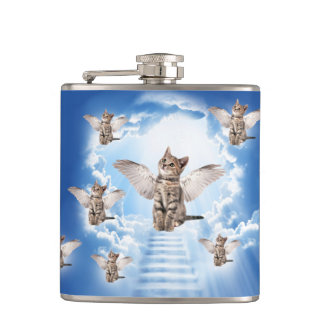 All Cats Go to Heaven Flasks