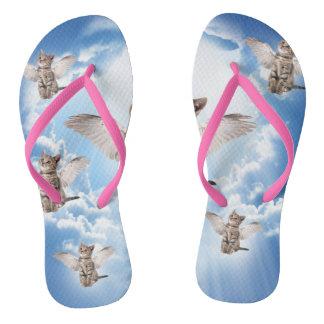 All Cats Go to Heaven Flip Flops