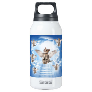 All Cats Go to Heaven Insulated Water Bottle