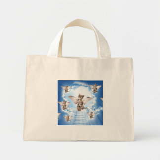 All Cats Go to Heaven Mini Tote Bag